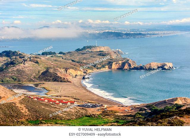 Golden Gate National Recreation Area, Marin County, California, USA