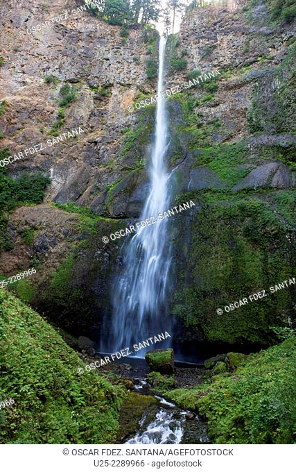 Multnomah Falls, Historic Columbia River Highway, Oregon, USA