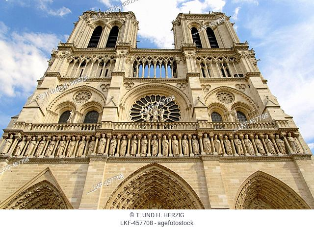 Notre-Dame Cathedral, Paris, France, Europe