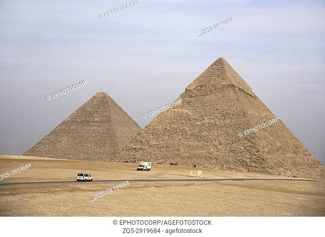 The Great Pyramid, tallest man-made structure for 3, 800 years, Giza, Egypt