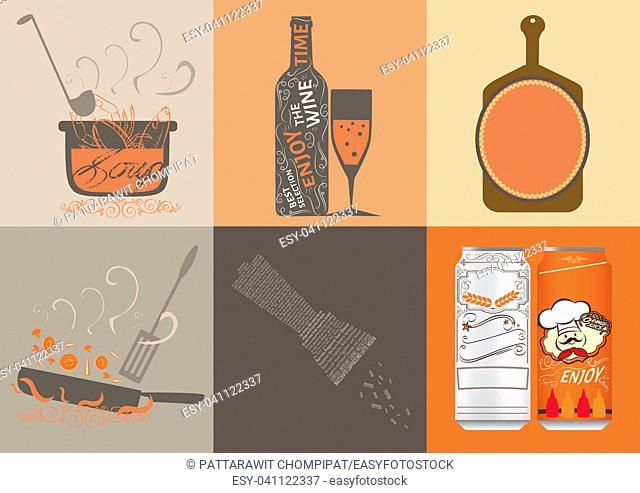 cuisine illustration vector design