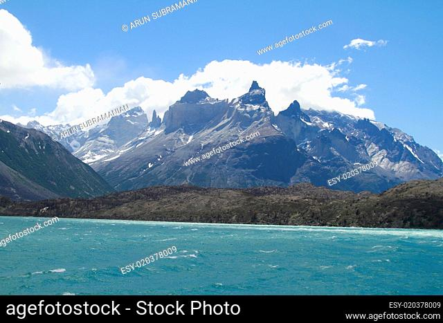 W Trek on Torres Del Paine Park
