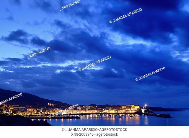 Coast of Castro Urdiales, Cantabria, Spain, Europe