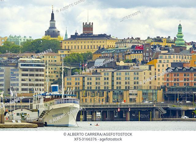 Riddarfjärden, Old Town, Stockholm, Sweden, Scandinavia, Europe