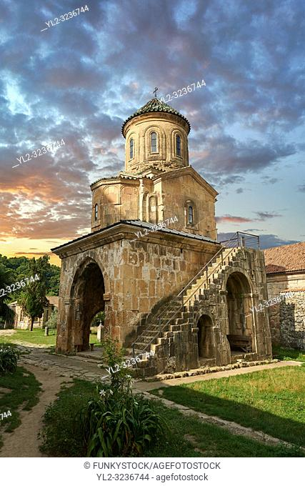 Pictures & images of Gelati Georgian Orthodox church of St. Nicholas, 13th century. The medieval Gelati monastic complex near Kutaisi in the Imereti region of...