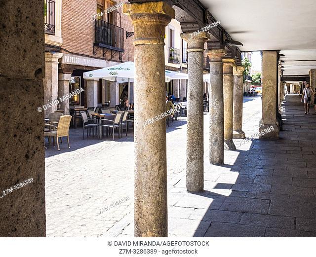 Calle Mayor. Alcalá de Henares. Madrid. España