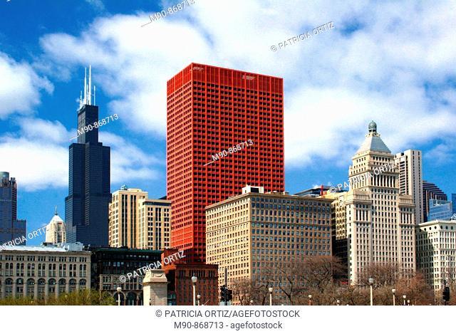 Architecture, Chicago, USA