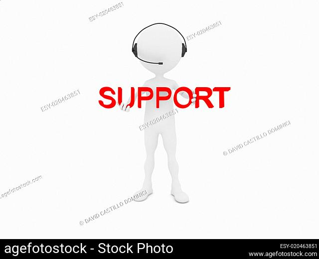 Support service concept