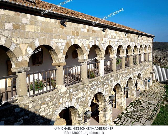 Shën Merise monastery, Apollonia, Fier County, Albania