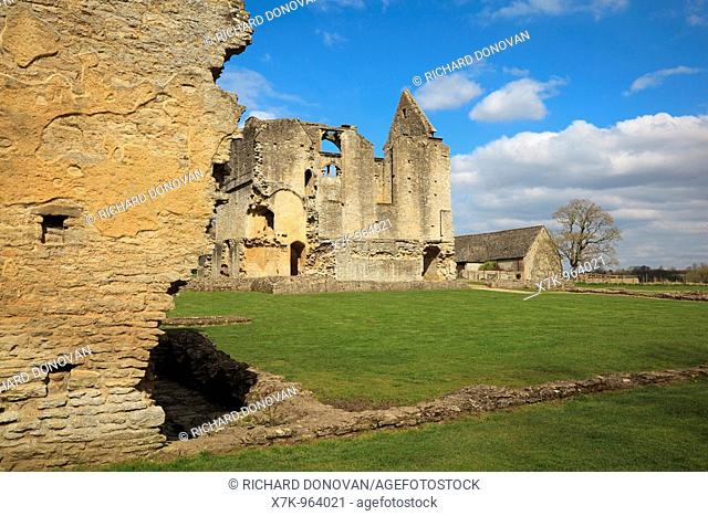 Cotswolds Oxfordshire Minster Lovell Hall built by Lord William Lovell in the 1440 s Last Resident was Thomas Coke