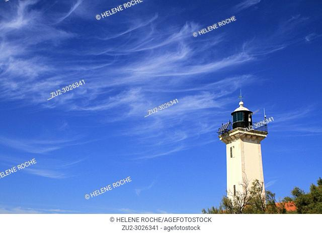 Lighthouse in Camargue, Provence, France