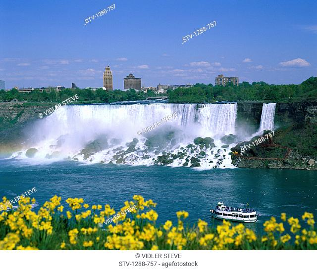 America, Awe, Boat, Buildings, Flowers, Holiday, Inspiration, Inspirational, Landmark, New york, Niagara, Niagara falls, Power