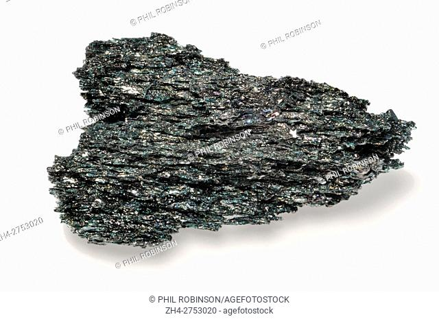 Carborundum (Silicon carbide; SiC) man-made crystal, synthesised form of Moissanite. Second hardest substance, after diamond