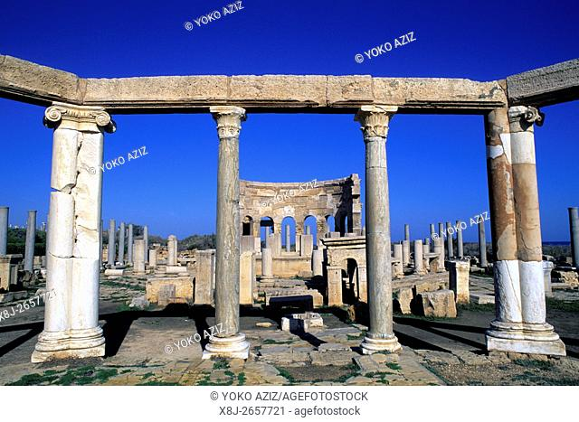 libya, leptis magna