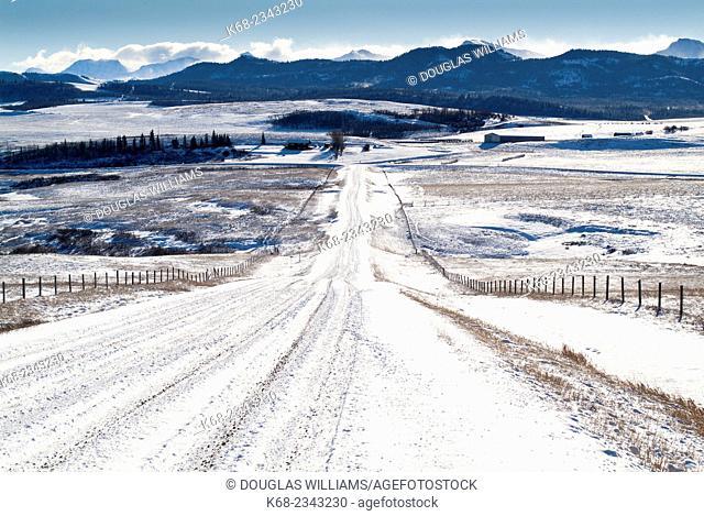 landscape near Pincher Creek, Alberta, Canada