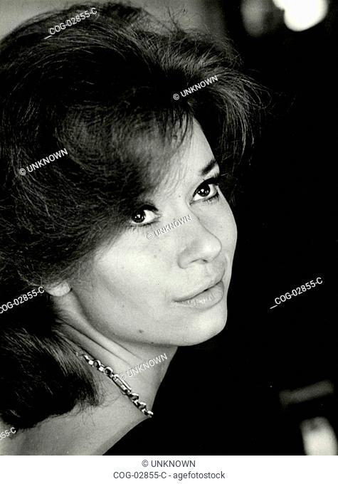 Italian actress Lea Massari