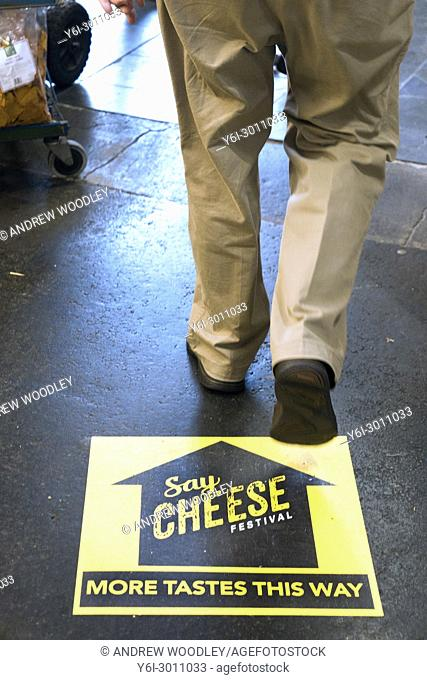 Say Cheese festival directions Prahran Market. Melbourne. Australia