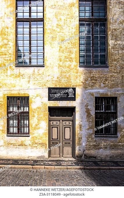 Old workplace of Johans Kristofs Broce, Riga, Latvia, Europe