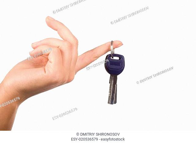 Key on finger
