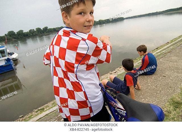 Danube river, Vukovar, Croatia