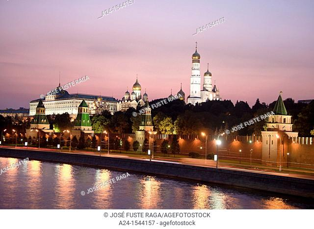 Rusia , Moscow City, The Kremlin Walls , Ivan the Great Belfry