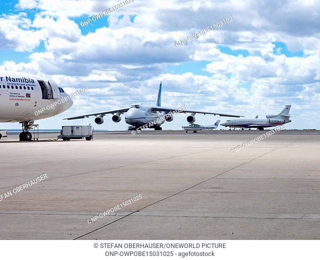 Namibia, Khomas, Antonow An-124, Windhoek Airport