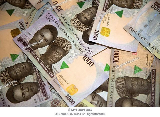 1000 Naira Bills Nigerian Currency Stock Photos And Images