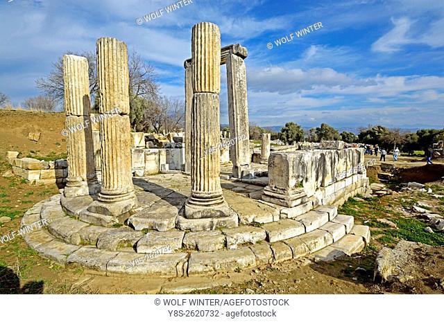 Lagina Temple of the fairly unknown goddess Hercate near Yatagan, Western Anatolia, Turkey