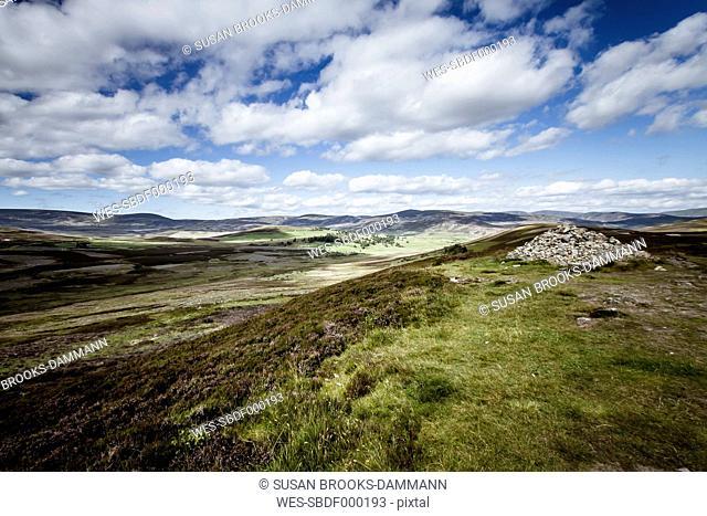 Great Britain, Scotland, landscape at Perthshire