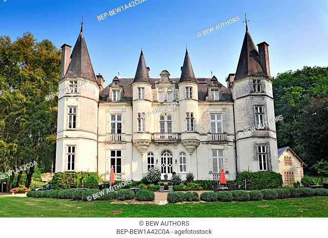 Chateau de Vallagon in loire valley France