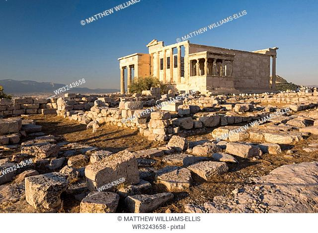 Acropolis, UNESCO World Heritage Site, Athens, Attica Region, Greece, Europe