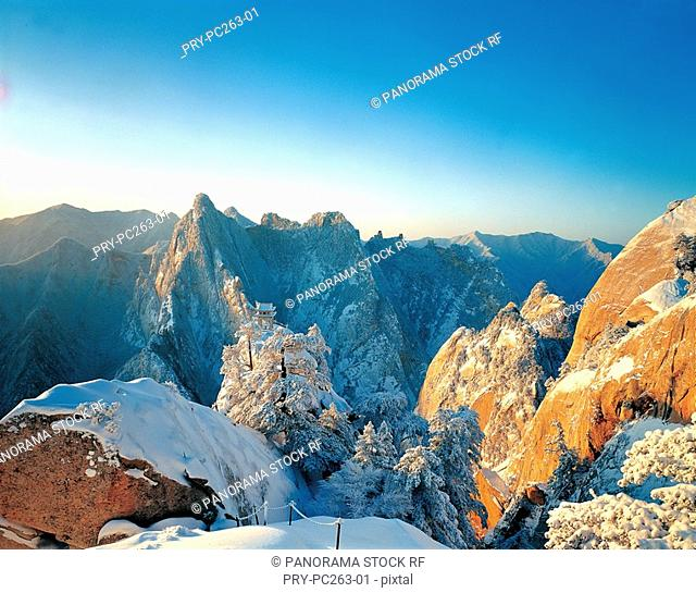 East Peak in Mt Huashan,Shaanxi