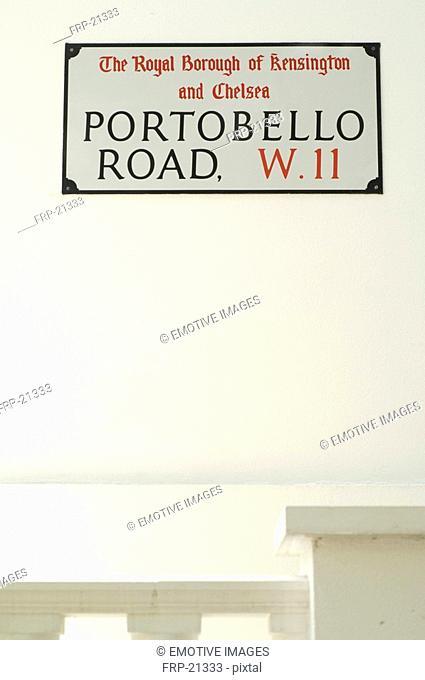 Portobello Road sign