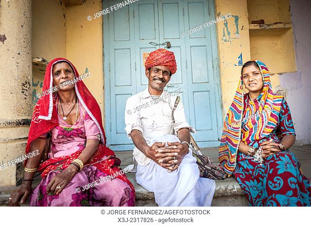People from Rajasthan, India, Asia