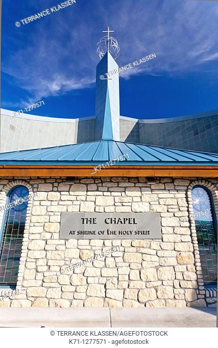 The shrine of the Holy Spirit exterior in Branson, Missouri, USA