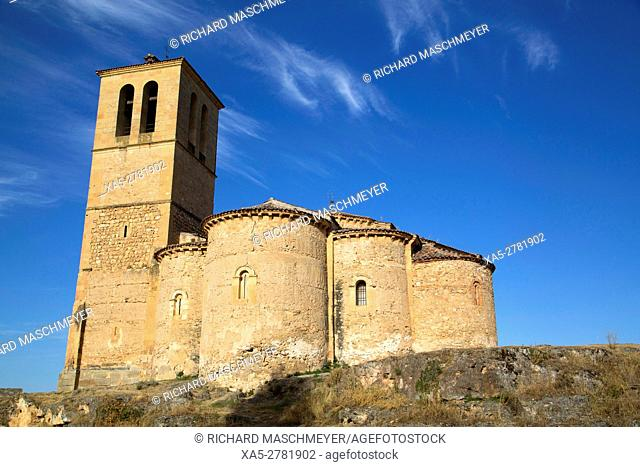La Vera Cruz Church, Segovia, UNESCO World Heritage Site, Spain