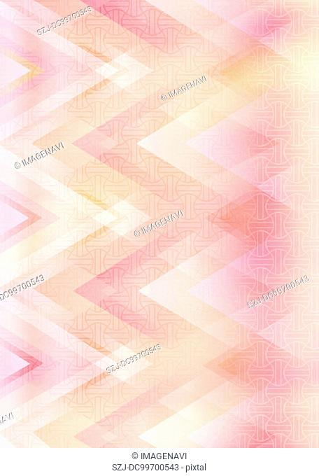 Oriental background in pink color