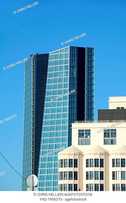 Silo Arts Centre & CGM Office Tower Block by Zaha Hadid Marseille France