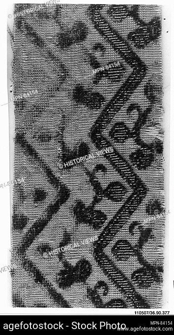 Piece. Date: 16th-17th century; Culture: Italian; Medium: Silk and metal thread; Dimensions: L. 5 1/4 x W. 2 inches (13.3 x 5