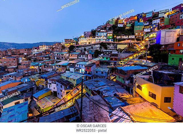 Barrio Las Independencias, Medellin, Antioquia, Colombia