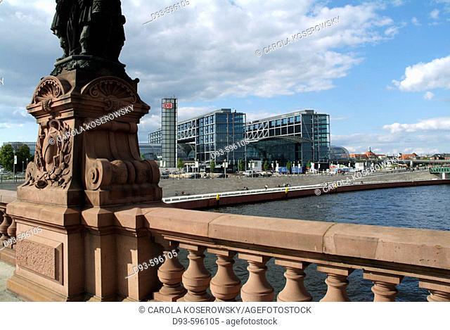 Germany, Berlin, Capital, Main Station