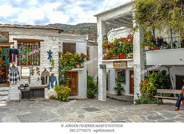 place in Pampaneira, region of the Alpujarra, Andalusia, Spain
