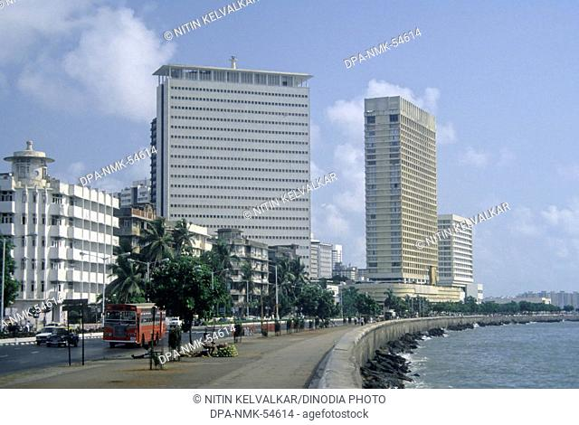 Nariman point in mumbai at maharashtra India