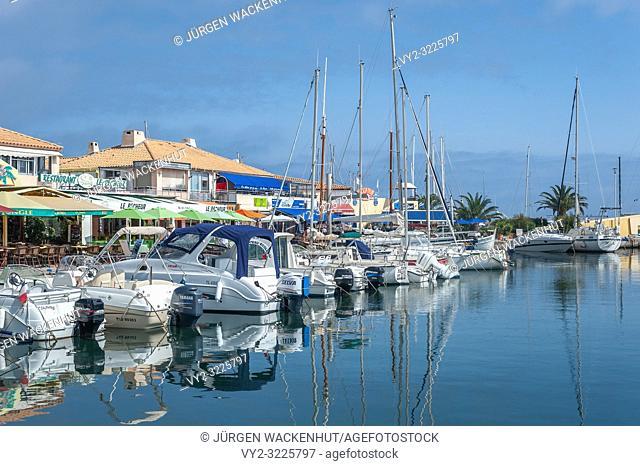 Marina, Le Lavandou, Var, Provence-Alpes-Cote d`Azur, France, Europe