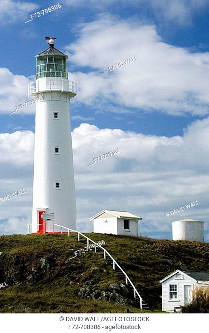 Cape Egmont Lighthouse, Taranaki, North Island, New Zealand