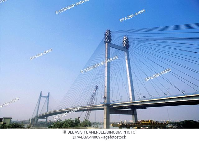 Vidyasagar Setu (New Howrah Bridge) ; Calcutta ; West Bengal ; India
