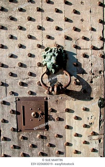 Leeds Castle Keep Door