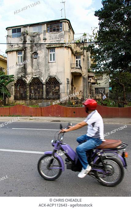 Decaying mansion, Vedado, Havana, Cuba