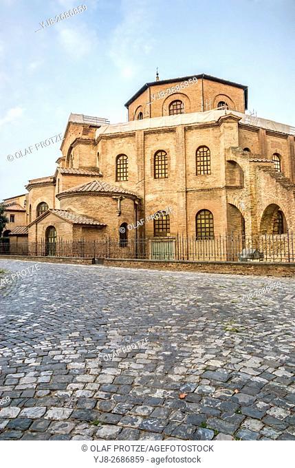 Basilica di San Vitale in Ravenna, Emilia-Romagna, Italy