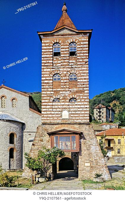 Protaton or Main Church of the Protos Karyes Mount Athos Greece